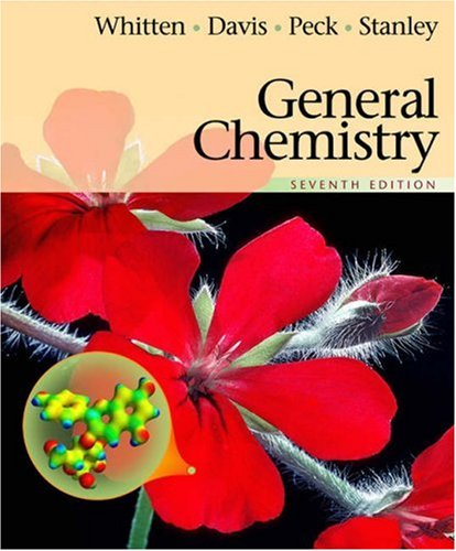 General Chemistry  7th 2004 (Revised) 9780534408602 Front Cover