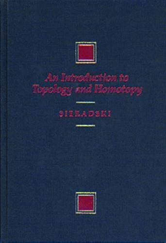 Introduction to Topology and Homotopy  1st edition cover