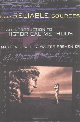 From Reliable Sources An Introduction to Historical Methods  2001 edition cover