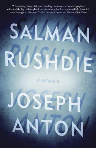 Joseph Anton A Memoir N/A edition cover