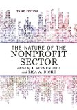 The Nature of the Nonprofit Sector:   2015 edition cover