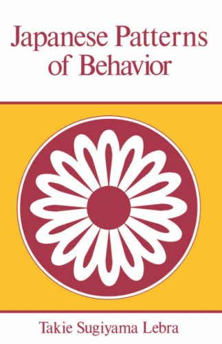 Japanese Patterns of Behavior  N/A edition cover