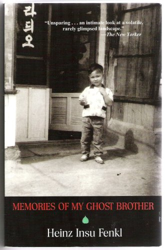 Memories of My Ghost Brother  1996 9780976808602 Front Cover