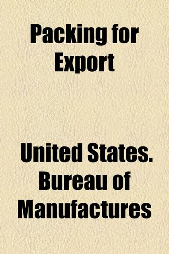 Packing for Export  2010 edition cover
