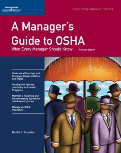 50 Minute Book A Manager's Guide to Osha, 2/E 2nd 2006 (Revised) edition cover