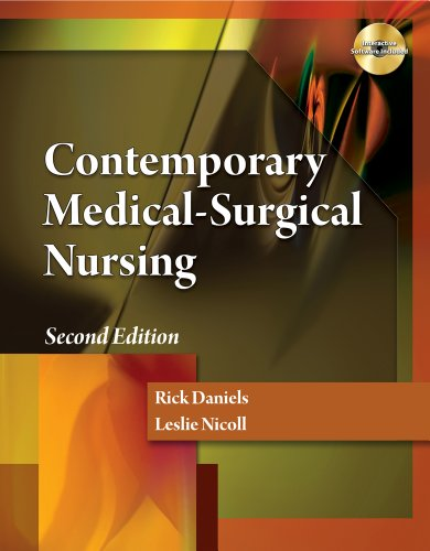 Contemporary Medical-Surgical Nursing  2nd 2012 edition cover