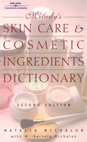 Skin Care and Cosmetic Ingredients Dictionary  2nd 2001 edition cover
