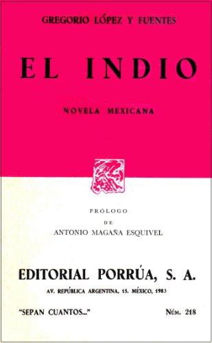 EL INDIO 1st edition cover