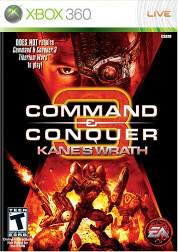 Command & Conquer 3: Kane's Wrath - Xbox 360 Xbox 360 artwork
