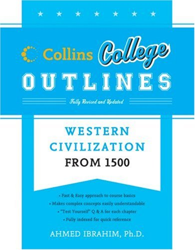 Western Civilization From 1500  4th 2007 edition cover