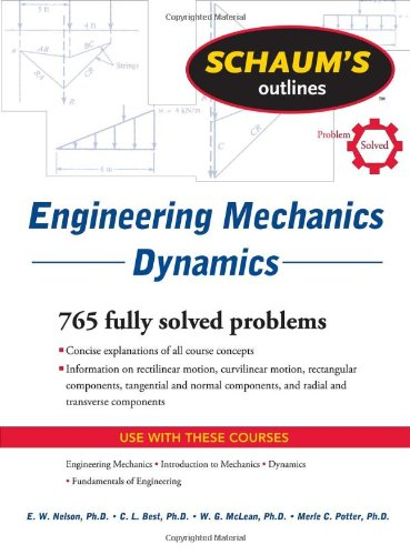 Schaum's Outline of Engineering Mechanics Dynamics  6th 2011 edition cover