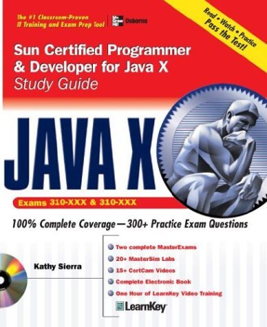 SCJP Sun Certified Programmer for Java 5 Exam (310-055) 3rd 2006 (Student Manual, Study Guide, etc.) 9780072253603 Front Cover