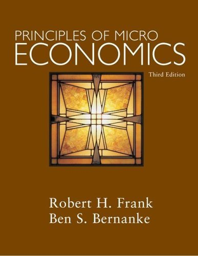 Principles of Microeconomics + DiscoverEcon code Card  3rd 2007 (Revised) edition cover