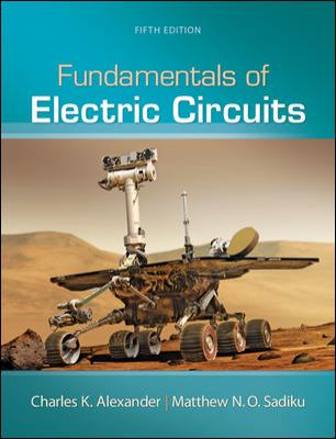 Loose Leaf Fundamentals of Electric Circuits  5th 2013 edition cover