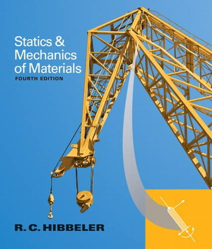 Statics and Mechanics of Materials  4th 2014 edition cover