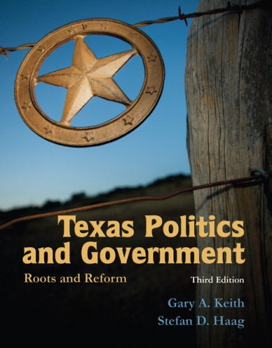 Texas Politics and Government Roots and Reform 3rd 2010 edition cover