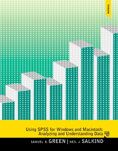 Using SPSS for Windows and Macintosh  7th 2014 edition cover