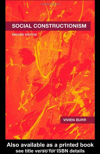 Social Constructionism  2nd 2003 edition cover