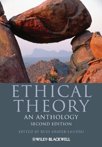 Ethical Theory An Anthology 2nd 2013 edition cover