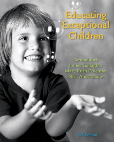 Educating Exceptional Children  13th 2012 edition cover