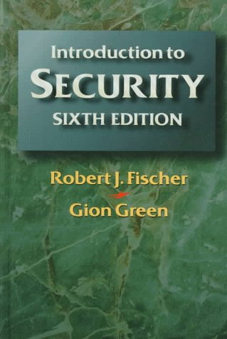 Introduction to Security  6th 1998 (Revised) 9780750698603 Front Cover