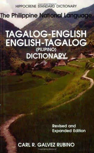 Tagalog-English - English-Tagalog The Philippine National Language 2nd 2002 (Revised) edition cover