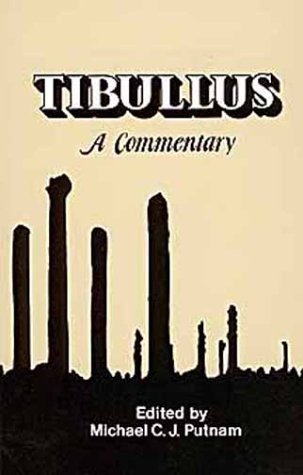 Tibullus A Commentary N/A edition cover