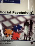 SOCIAL PSYCHOLOGY, Fourth Edition (Paperback-B/W))  4th 2014 9780989049603 Front Cover