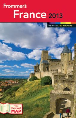 Frommer's France  22nd 2012 edition cover
