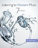 Bundle: Listening to Western Music (with Introduction to Listening CD), 7th + Music CourseMate with EBook Printed Access Card Listening to Western Music (with Introduction to Listening CD), 7th + Music CourseMate with EBook Printed Access Card 7th 2014 edition cover