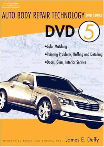 Auto Body Repair Technology DVD 5   2005 9781401878603 Front Cover