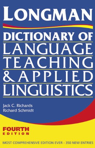 Longman Dictionary of Language Teaching and Applied Linguistics  4th 2009 (Revised) edition cover