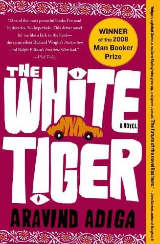 White Tiger  N/A 9781416562603 Front Cover