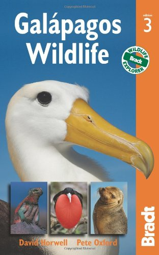 Galapagos Wildlife/3 Bradt  3rd 2011 (Revised) edition cover