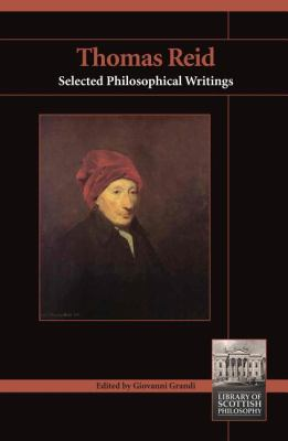 Thomas Reid Selected Philosophical Writings  2012 edition cover