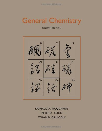 General Chemistry  4th 2011 (Revised) 9781891389603 Front Cover