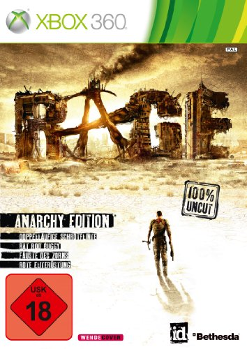 Rage - Anarchy Edition Xbox 360 artwork