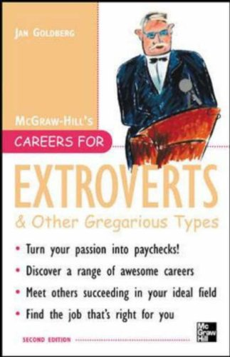 Careers for Extroverts & Other Gregarious Types, Second Ed  2nd 2006 (Revised) 9780071448604 Front Cover