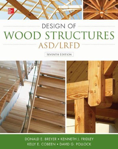 Design of Wood Structures-ASD/LRFD  7th 2015 edition cover