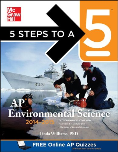 5 Steps to a 5 AP Environmental Science, 2014-2015 Edition  3rd 2013 edition cover