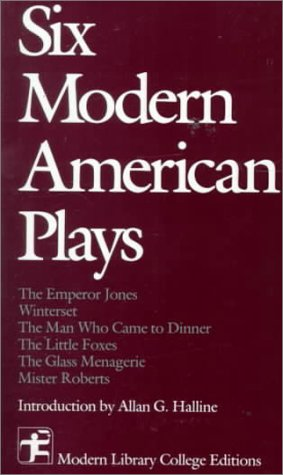 Six Modern American Plays  1988 edition cover