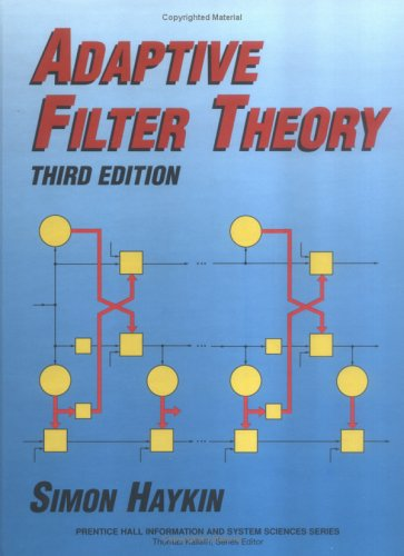 Adaptive Filter Theory  3rd 1996 edition cover