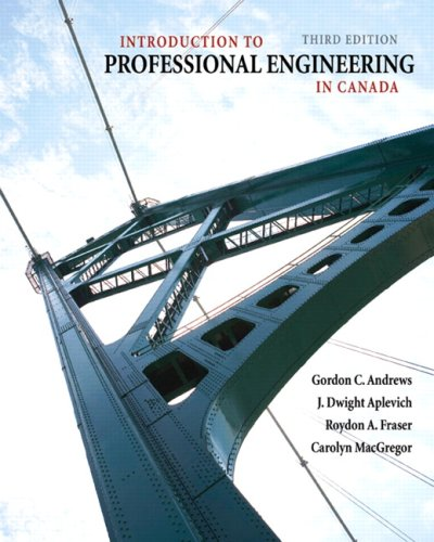 INTRO.TO PROFESS.ENGINEERING I N/A 9780135153604 Front Cover