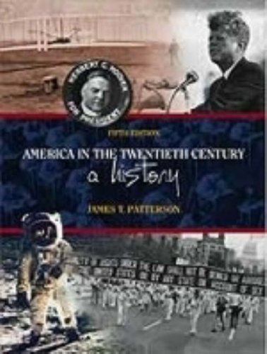 America in the Twentieth Century A History 5th 2000 (Revised) edition cover