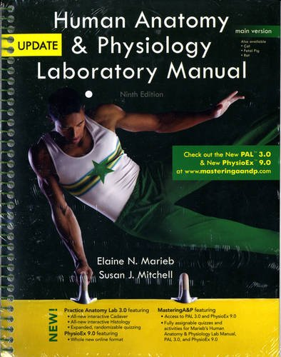 Human Anatomy and Physiology Laboratory Manual, Main Version, Update  9th 2012 edition cover