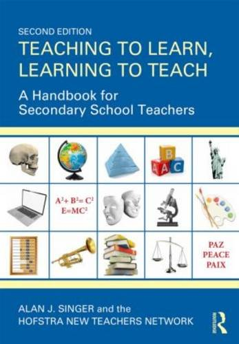 Teaching to Learn, Learning to Teach A Handbook for Secondary School Teachers 2nd 2014 (Revised) edition cover