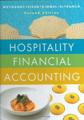 Hospitality Financial Accounting  2nd 2009 edition cover
