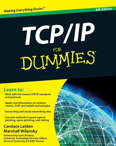 TCP/IP  6th 2009 9780470450604 Front Cover