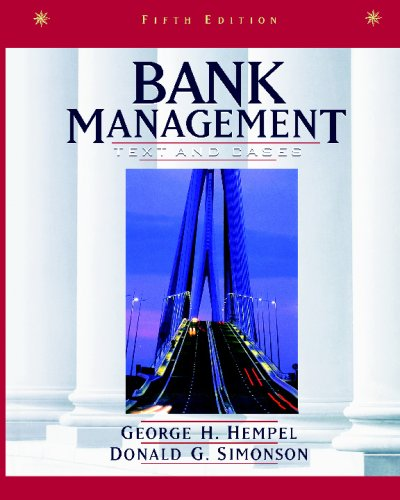 Bank Management Text and Cases 5th 1999 (Revised) edition cover