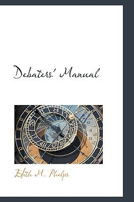 Debaters' Manual N/A edition cover